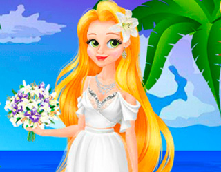 Game Rapunzel Elopes To Hawaii