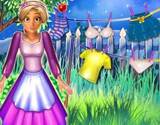 Game Rapunzel Great Cleaning