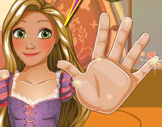 Game Rapunzel Hand Doctor