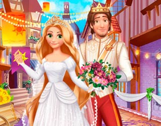 Game Rapunzel Medieval Wedding