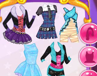 Game Rapunzel's Monster High Costumes