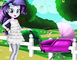 Game Rarity's baby birth