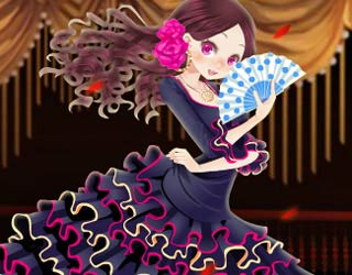 Game Real Flamenco Dress Up