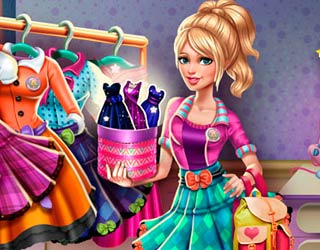 Game Sery College Dolly Dress Up