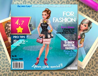 Game Sery Magazine Dolly Dress up
