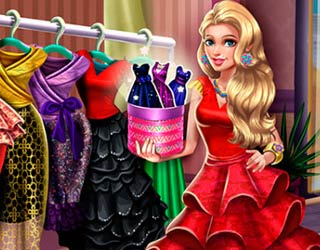 Game Sery Runway Dolly Dress Up