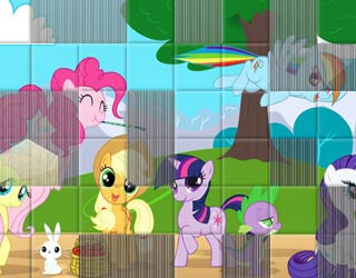 Game Set the Blocks Pony Land