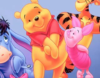 Game Shy Pooh Online Coloring