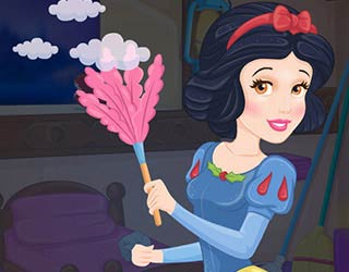 Game Snow White House Makeover