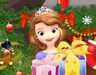Game Sofia The First Christmas Tree