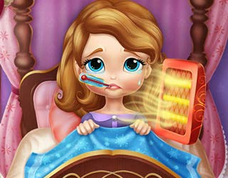 Game Sofia The First Flu Doctor
