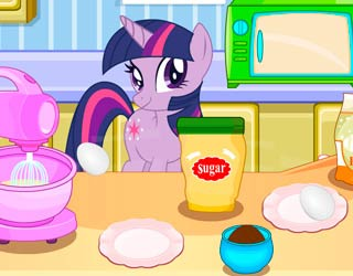 Game Sparkle Cooking Cupcakes