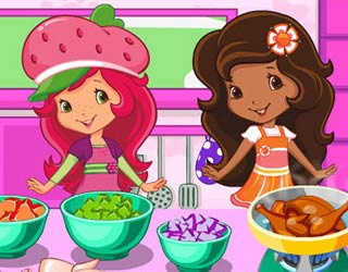 Game Strawberry Shortcake Cooking Soup