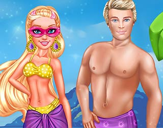 Game Super Barbie Perfect Date