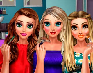Game Supermodels Glossy Makeup