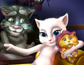 Game Talking Angela And The Newborn Baby