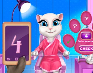 Game Talking Angela Eye Doctor