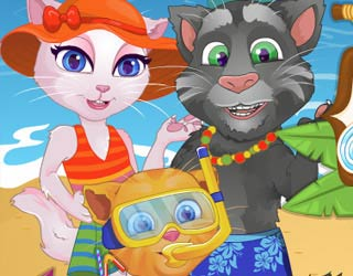 Game Talking Angela Summer Vacation