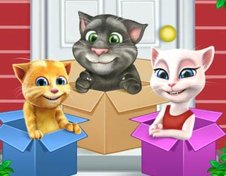 Game Talking Cats Move to a New House