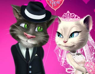 Game Talking Tom and Angela Wedding Party
