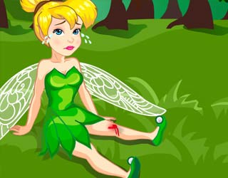Game Tinkerbell Forest Accident
