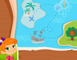 Game Tiny Pirates: Treasure Island