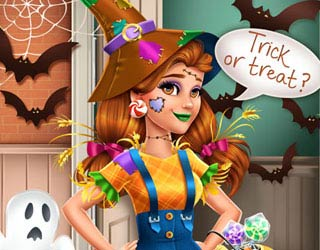 Game Victoria's Halloween Scarecrow Costume
